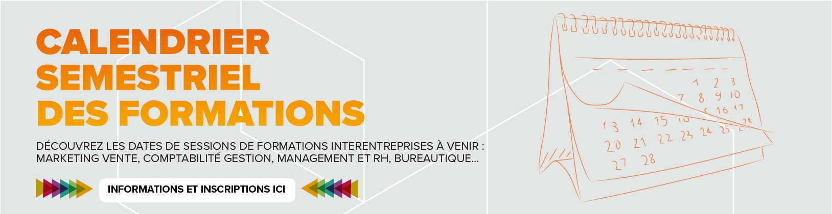 Calendrier des formations - Interfor Formation Continue